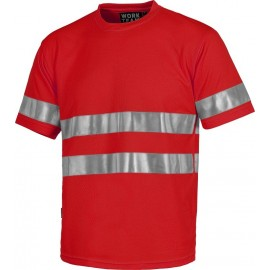 CAMISETA REFLECTANTE WORK TEAM C3939 (COLORES)