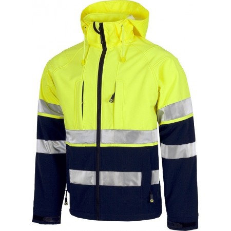 CHAQUETA AV WORK SHELL S9525 (COLORES)